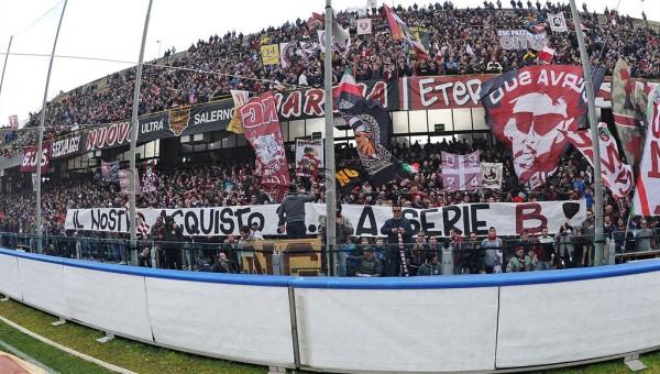 08 02 2015 Salernitana - Ischia campionato Lega pro 1 divisone girone C
