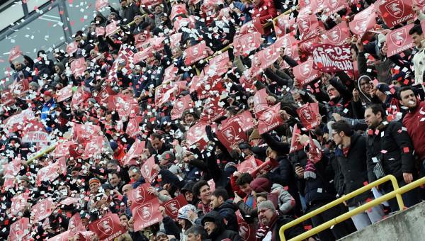 07 03 2015 Salerno Stadio Arechi Campionato Lega Pro 2014 2015 Salernitana vs Benevento