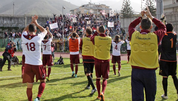 01 04 2015 Pagani Campionato Lega Pro 2014 2015 Paganese-Salernitana