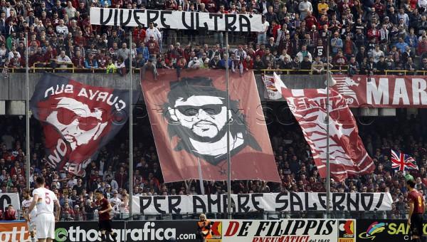 11 04 2015 Salernitana - Lupa Roma Campionato Lega Pro 2014 2015.