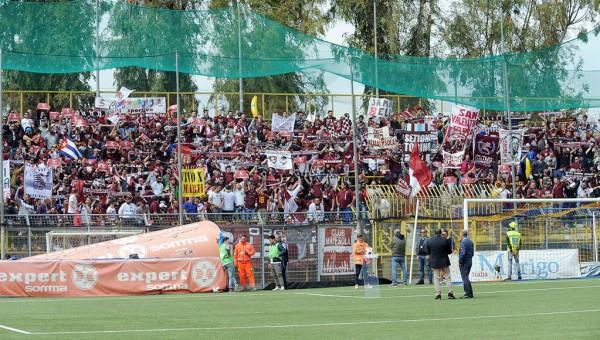 18 04 2015 Castellamare di Stabia Campionato Lega Pro 2014 2015 Juve Stabia-Salernitana