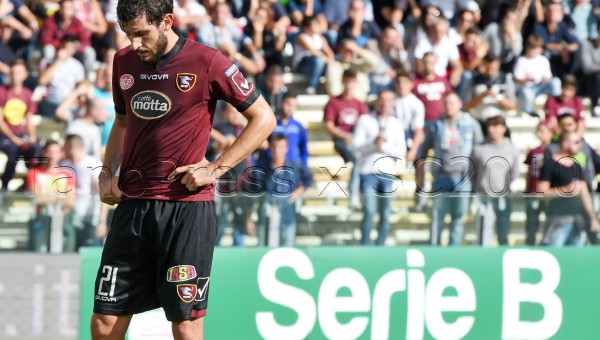 Salerno. Salernitana - Trapani campionato serie B 2015-2016.