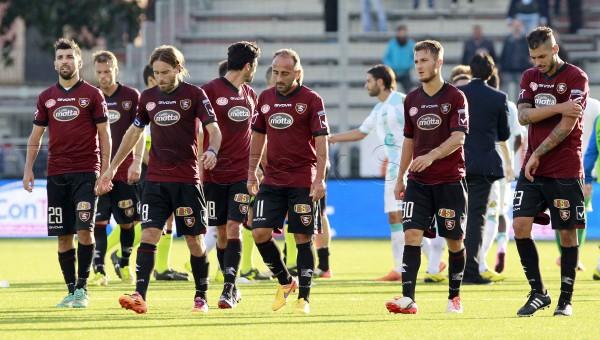 17-10-2015 Virtus Entella - Salernitana Campionato di Calcio Serie B 2015/2016 ConTe.it - Stadio Comunale Chiavari