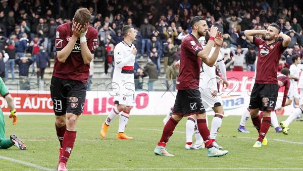 Salernitana - Lanciano Campionato Serie B 2015-2016