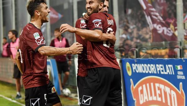 Salernitana - lanciano ritrono play out campionato serie b 2015-2016